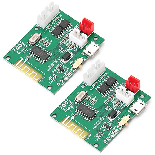 logozoee Módulo Amplificador de Audio, Plug and Play DIY Mini Placa amplificadora de 5 W, 3,7-5 V para Montaje de Altavoces reproducción de Audio
