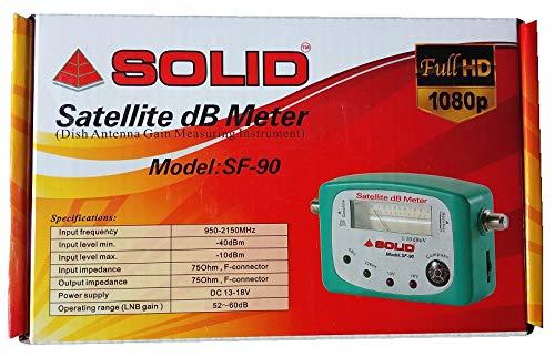 SOLID SF-90 Satellite Analog dB Meter