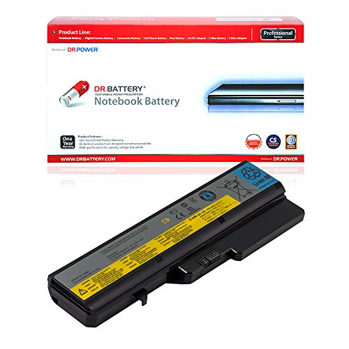 DR. BATTERY L09S6Y02 Battery Compatible with Lenovo V570 G560 B570 IdeaPad Z470 Z560 Z565 Z570 Z575 L09M6Y02 L09L6Y02 L09C6Y02 L10P6Y22 L10C6Y02 57Y6454 L10M6F21 L08S6Y21 [11.1V/4400mAh/48Wh]
