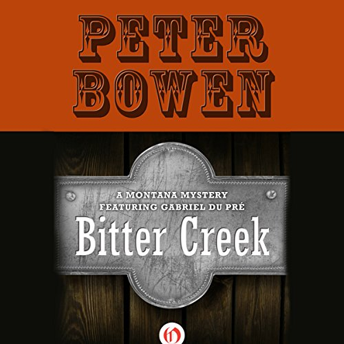 Bitter Creek audiobook cover art