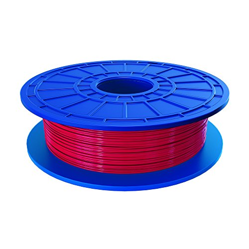 Dremel PLA Filament auf pflanzlicher Basis hergestellt, recyclebar, 1,75 mm, 3D Drucker, rot, 26153D03JA