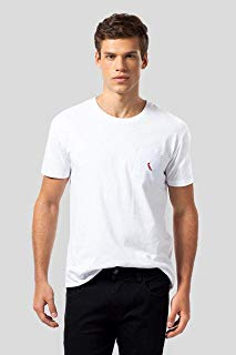 Camiseta Br Bolso Br Pica-pau Bordado Reserva