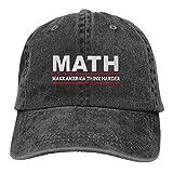 HENANJINZHICHENGJIAN Math Andrew Yang 2020 Men & Women Hat Unisex Adjustable Comfortable Caps Black