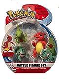 Wicked Pokemon Battle 3 Figure Set - Charmeleon, Bulbasaur & Larvitar
