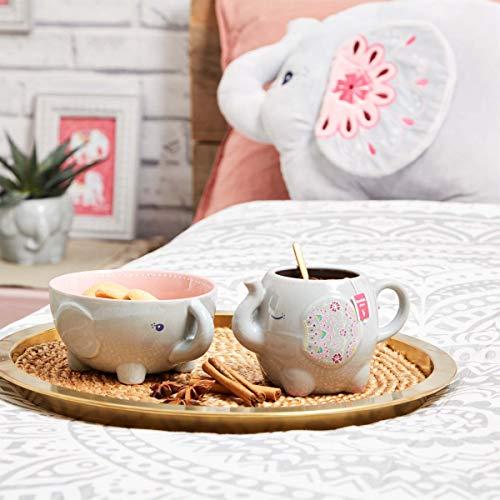 Maia Gifts Mandala Elephant Ceramic Bowl