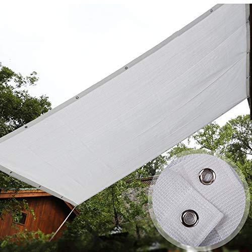 shade net 80% Malla De Sombra, 2 * 5m Anti-Ultravioleta Tela De Sombreado,Estructura De Malla Transpirable De 5 * 6 M, Sombra Refrescante,Toldo Exterior para Jardin Balcon Planta Playa