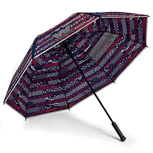 Weatherman Umbrella - Folds of Honor - Golf Umbrella - Windproof Sports Umbrella Resists Up to 55 MPH Winds - United