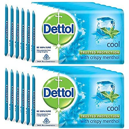 Dettol Cool Soap - 75 g (Pack of 12)