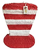 Large Red & White Hat Pinata 24' Tall