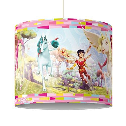 Bilderwelten Hängelampe Colour Pink Farben Pop Art Muster Kunst Formen, Größe HxB: 34cm x 40cm
