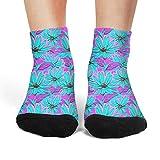 楽しいデイジーエコデイジー 消臭 ランニング 女性ショート靴下 吸汗速乾高級綿