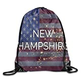 Etryrt Prämie Turnbeutel/Sportbeutel, American Hampshire Cool Gym Drawstring Bags Travel Backpack...