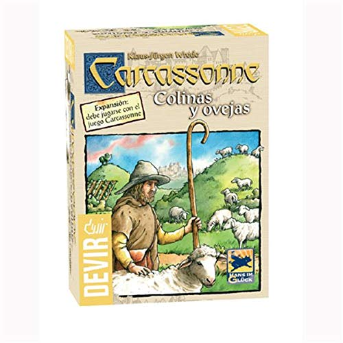 Devir Carcassone colinas y ovejas