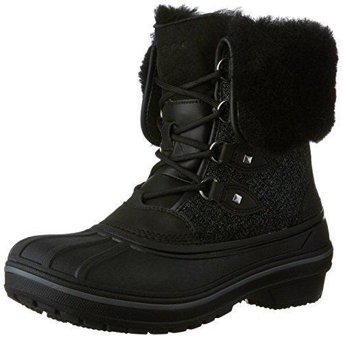 Crocs AllCast II Luxe Boot Snow Femmes -, EUR: 36.5, Black Shimmer