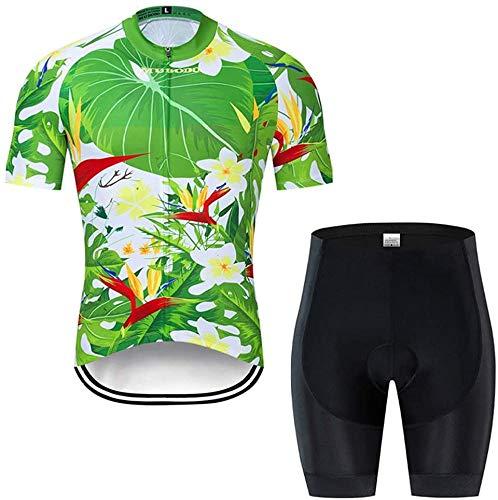 Radsportbekleidung Rennrad-Kleidung Set Sommer Quick Dry Radsport Trikot Set,S