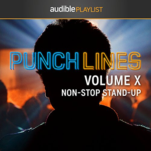 Punchlines Volume X: Non-Stop Stand-Up cover art