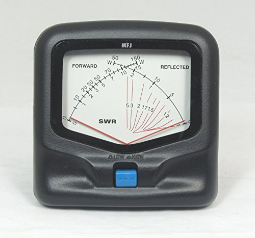 MFJ-842 UHF/VHF 150 W Cross Needle SWR/Watt Meter by R W Antenna Store. Compare B07DF76J9H related items.