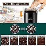 TAKRINK-Macinacaffe-Elettrici-200W-Elettrico-Spezia-Mulino-Caffe-e-Spezie-Mulino-Portatile-con-Lame-in-Acciaio-Inox-50g-Capacita-Caffe-Bean-Mill-Spice-Bean-Bean-Nero
