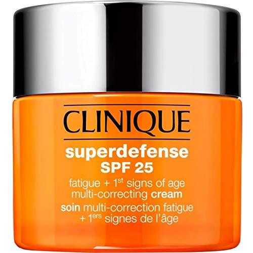 Clinique Superdefense SPF 25 Crema Viso Antietà + Anti-Fatica Tipo Pelle 1/2, 50 ml