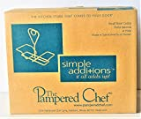 1 X The Pampered Chef Small Bowl Caddy by pampered cheff