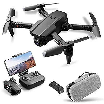 Drone with Camera 4K,Drone Dual Camera Track Flight Gravity Sensor Gesture Photo Video Altitude Hold Headless Mode RC Quadcopter for Adults Kid