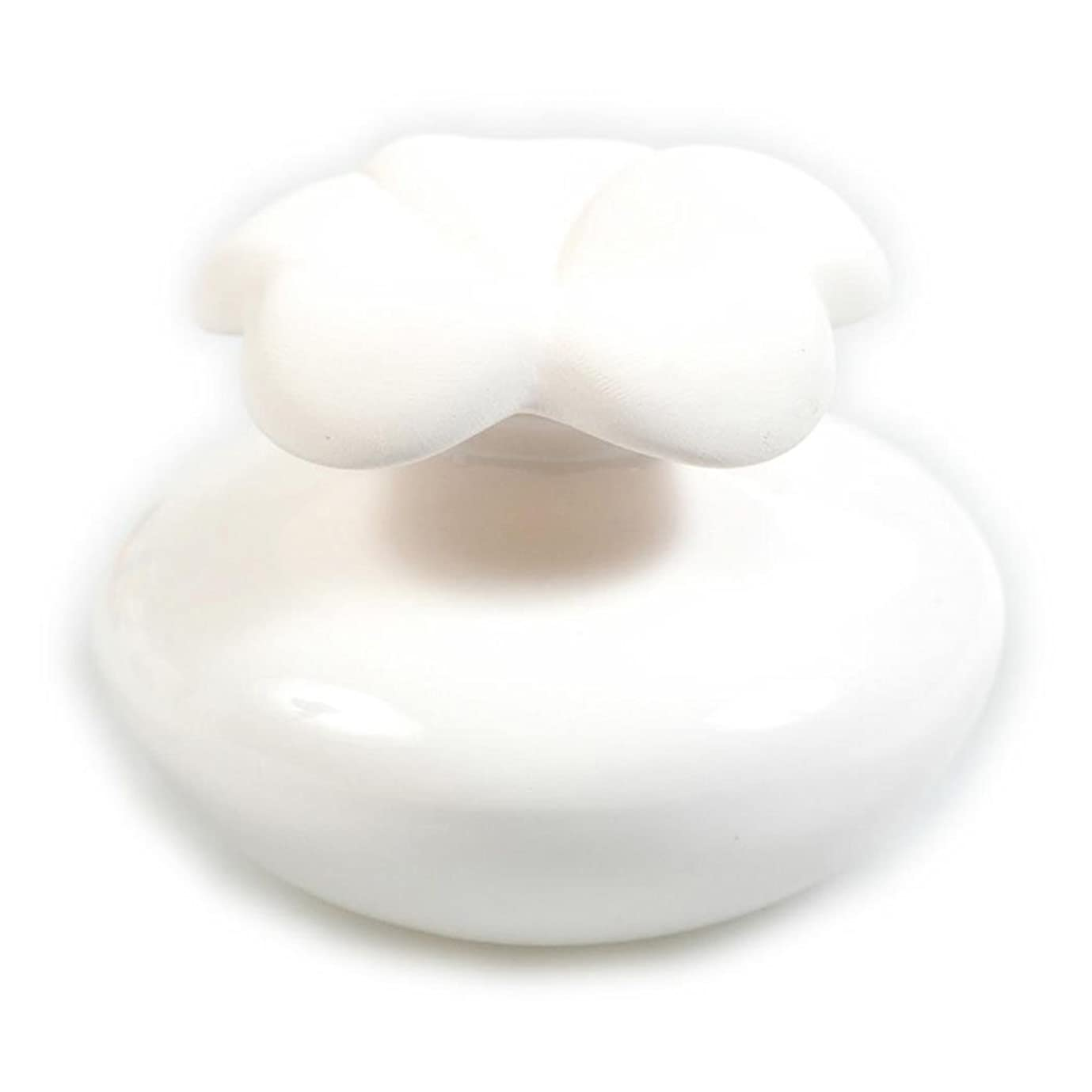 歌うフルーティー志すMillefiori FIORE ルームフレグランス用 花の形のセラミックディフューザー Sサイズ ホワイト LDIF-FS-001