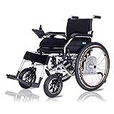 zdw Nueva silla de ruedas eléctrica ligera de control plegable, silla de ruedas eléctrica para adultos, aprobada para viajes aéreos, silla de ruedas plegable motorizada para uso en el hogar y en exte