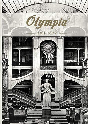 Olympia Blanko Notizbuch, 160 Seiten, Format 220 x 312 mm