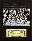 C & I Collectables NHL Blackhawks 2009-10 Stanley Cup Celebration Champions Plakette -