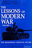 Lessons of Modern War: Arab Israeli Conflicts 1973-1989