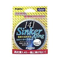 Fujino(フジノ) ライン 141シンカーアジング ゼクシオン 100m 0.5号 6.6lb(3kg) ダークグレー L-12G