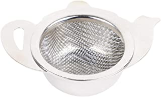 HealthAndYoga(TM) Stainless Steel Tea Strainer with a Utility Cup | Elegant Kettle Design