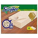 Swiffer Lot de 18 recharges de lingettes sèches pour bois et parquet