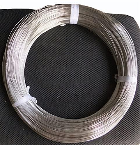 스프링 스틸 와이어 1.2-4.0MM 1KG 304 스테인리스 스틸 와이어 브라이트 피니쉬 경도가 있는 스프링 스틸 와이어 하드 와이어 후크 라인 탄성 케이블 (특정 : 4.0MM)