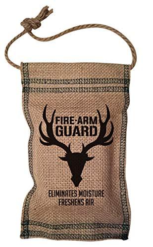 Firearm Guard Dehumidifier Pouch 2 Pack Deer Design, Natural, 1 Size (FGDeer2pk)