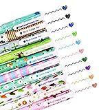 SITAKE - 10 bolígrafos lindos, bolígrafos kawaii, bolígrafos divertidos, bolígrafos de gel de escritura de colores de 0,38 mm, juegos de papelería coreana japonesa, útiles escolares (animal)