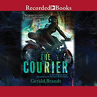 The Courier audiobook cover art