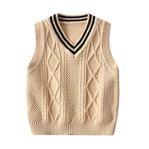 Boys Knitted Sweater Vest for Gi...