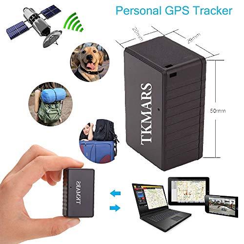 TK902-TKMARS-DK GPS per Auto, Zeerkeer Bambino/Tronco/Mini Borsellino/Bambini in Tempo Reale per Risparmio Energetico Intelligente Track Playback Non è Necessario Installare Lavoro Silenzioso