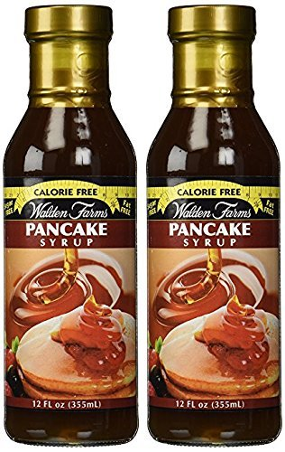Walden Farms Pancake Syrup 12 Fl Oz Pack of 2