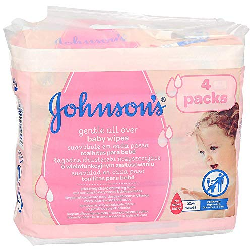 JOHNSON´S toallitas para bebés envase 224 uds