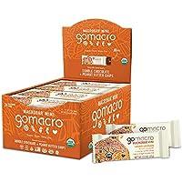 24-Count GoMacro MacroBar Mini Organic Vegan Snack Bars, Double Chocolate + Peanut Butter Chips 0.9 Oz Bars)