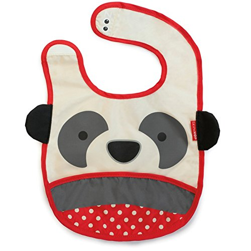Skip*Hop Bavoir Motif Panda Blanc