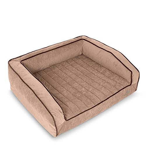 BUDDYREST Crown Supreme, Medium Memory Foam Dog Bed, Orthopedic,...