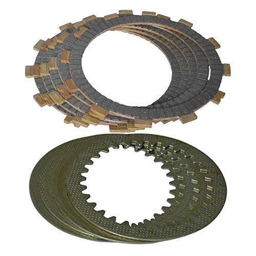 without brand FJY-Placas, Embrague (5pcs fricción Placas + 4pcs Hierro Disc) Embrague Set for Suzuki GS125 EN125 GN125 GS 125 EN 125 GN 125 (Color : Lavender)