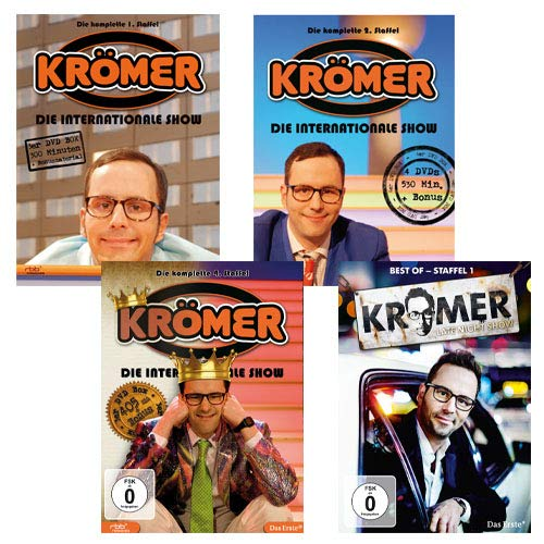 161906 - Kurt Krömer DVD-Paket -11er DVD-Set (Die internationale Show Teil 1 - Teil 2 - Teil 4 und Best of Late Night Show)