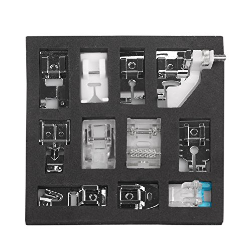 Naaimachine Presser Voet Kit Hem Voet Onderdelen Accessoires voor Brother Singer 11 PCS Splinter
