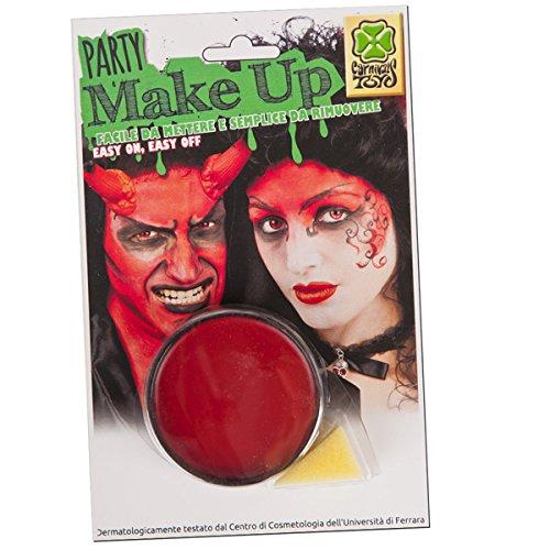 Maquillage Rouge 10 ml - Lavable à l'eau - Deguisement Halloween - 626