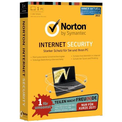 Norton Internet Security 2013 - 1PC + 1PC (Bundle) [import allemand]