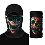 Image: That Healthy Skin Glow | Magic Summer Neck gaiters for Men | Gothic Sun and Dust Protective | Men's Bandana | Headwear, Cycling, Headscarf, Head Shield
